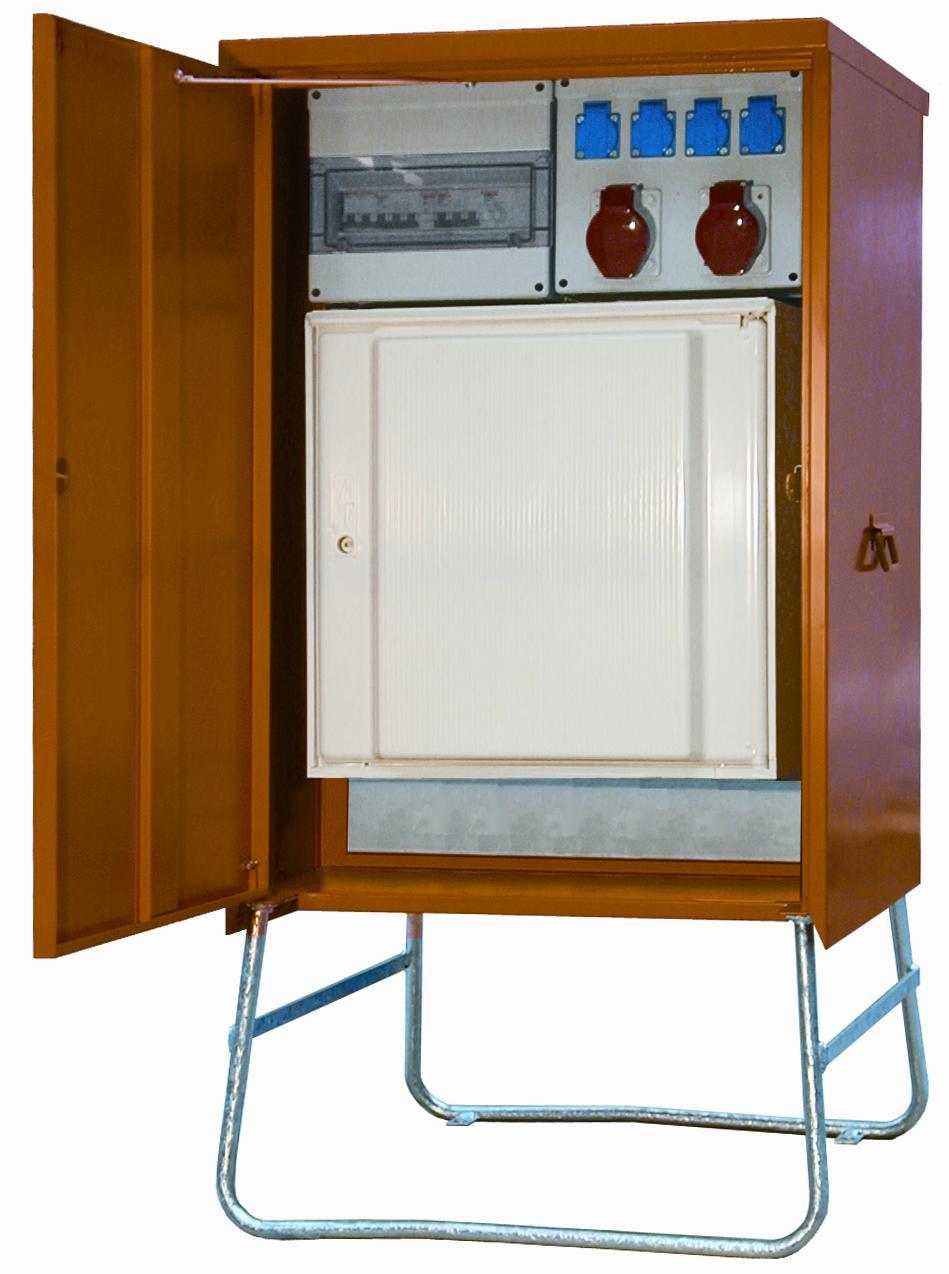 elecmat t tes installation coffret lectrique provisoire. Black Bedroom Furniture Sets. Home Design Ideas